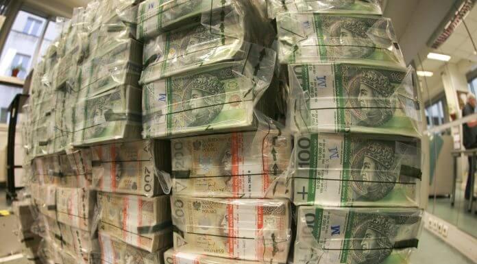 Pieniądze 50 mln PLN