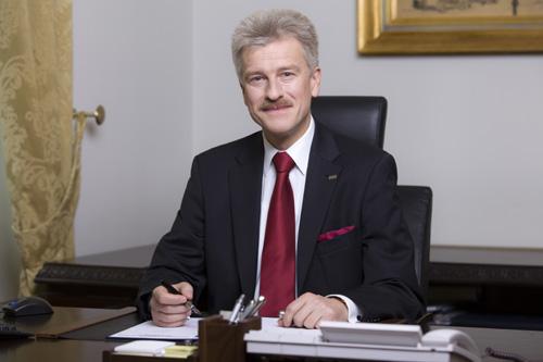 Prezydent Miasta Poznania Ryszard Grobelny
