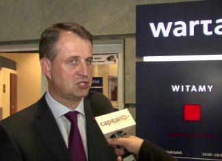 Jarosław Parkot, Prezes Zarządu Warta