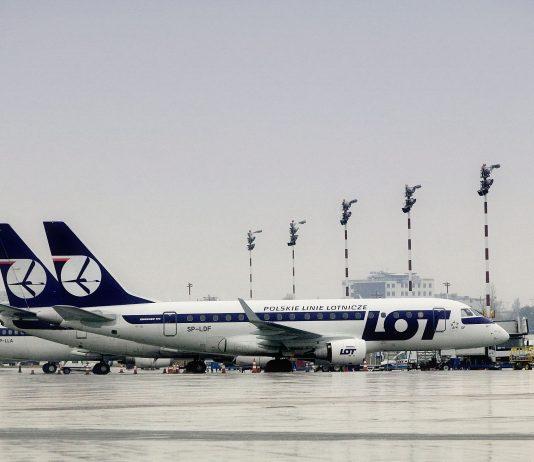 LOT E170 samolot