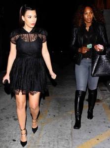 Serena Williams i Kim Kardashian torebka antbag by ania