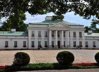prezydent pałac prezydencki