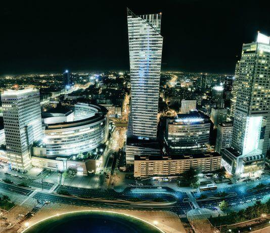 warszawa miasto polska biznes