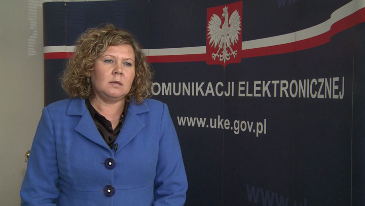 Magdalena Gaj, prezes Urzędu Komunikacji Elektronicznej