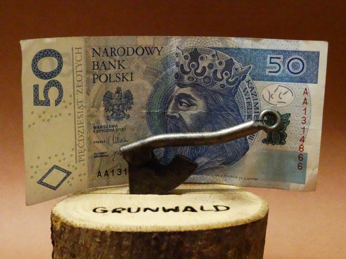 PLN pieniądz 50