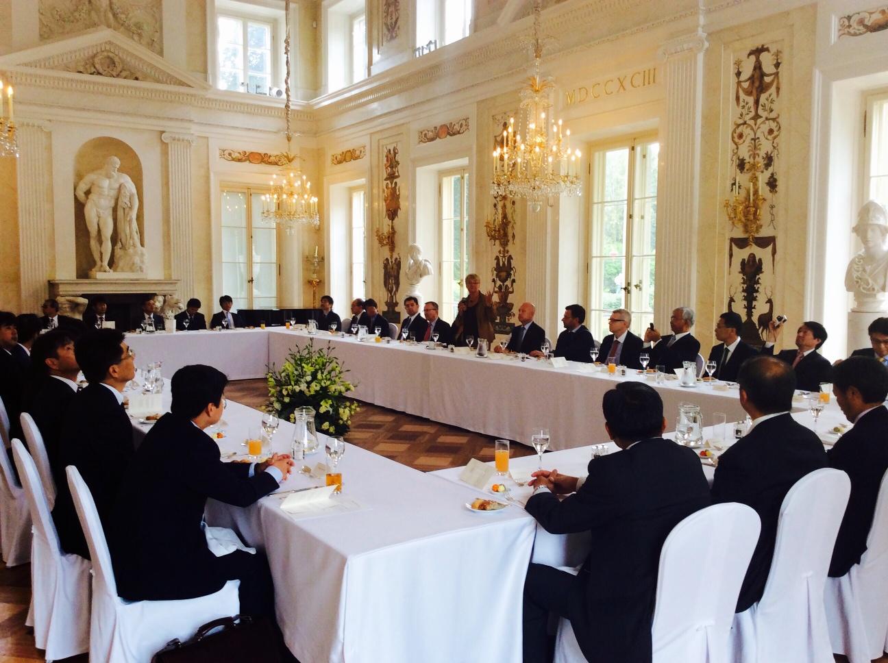 Delegacja japońskiego biznesu w Polsce