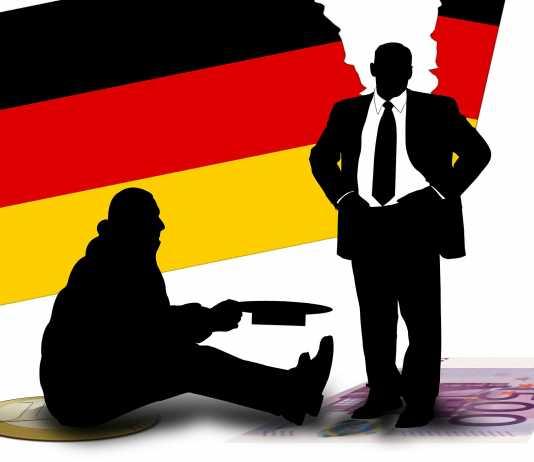 bezrobocie bieda Niemcy