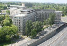 Zdjęcie budynku siedziby GUS (Główny Urząd Statystyczny)