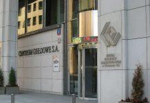 GPW budynek wejscie