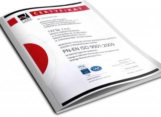 Biuro Tłumaczeń 123Tlumacz.pl certyfikat ISO 9001:2009