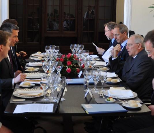 Spotkanie ministrów finansów Polski i Niemiec