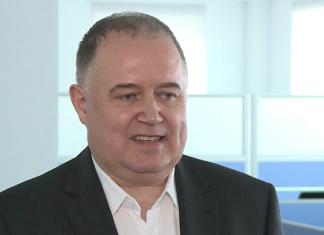 Grzegorz Jasiński, prezes zarządu Fabryki Łożysk Tocznych w Kraśniku