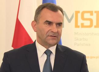 Włodzimierz Karpiński, ustępujący minister skarbu państwa