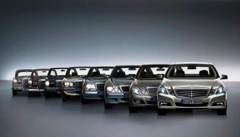 Klasa E pierwszym Mercedesem produkowanym w Chinach