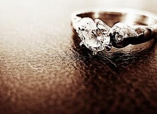 pierścień, diament, biżuteria,
