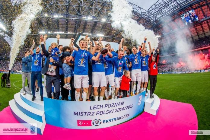 Lech Poznań – mistrz Polski sezonu 2014/15
