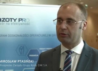Wiceprezes Mirosław Ptasiński – wyniki finansowe za IQ 2015