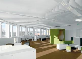 4 megatrendy w przestrzeni biurowej – Otwarte, funkcjonalne przestrzenie