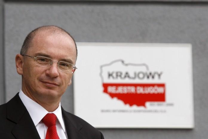 Adam Łącki prezes Zarządu Krajowego Rejestru Długów