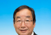 Kenji Tomioka burmistrz miasta Takasaki