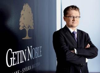 Krzysztof Rosiński, Prezes Zarządu Getin Noble Banku