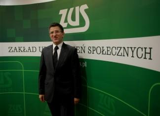 Prezes Zakładu Ubezpieczeń Społecznych Zbigniew Derdziuk