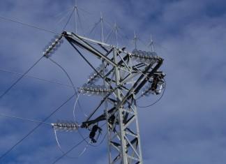 słup elektryczny elektryka
