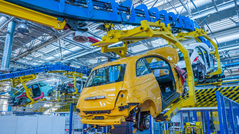 Produkcja nowego Fiata 500 FCA Poland - Tychy