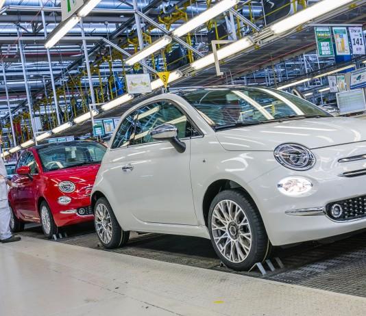 Produkcja nowego Fiata 500 FCA Poland – Tychy
