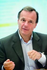 Alexis Brouhns – Dyrektor Generalny, Solvay Europe