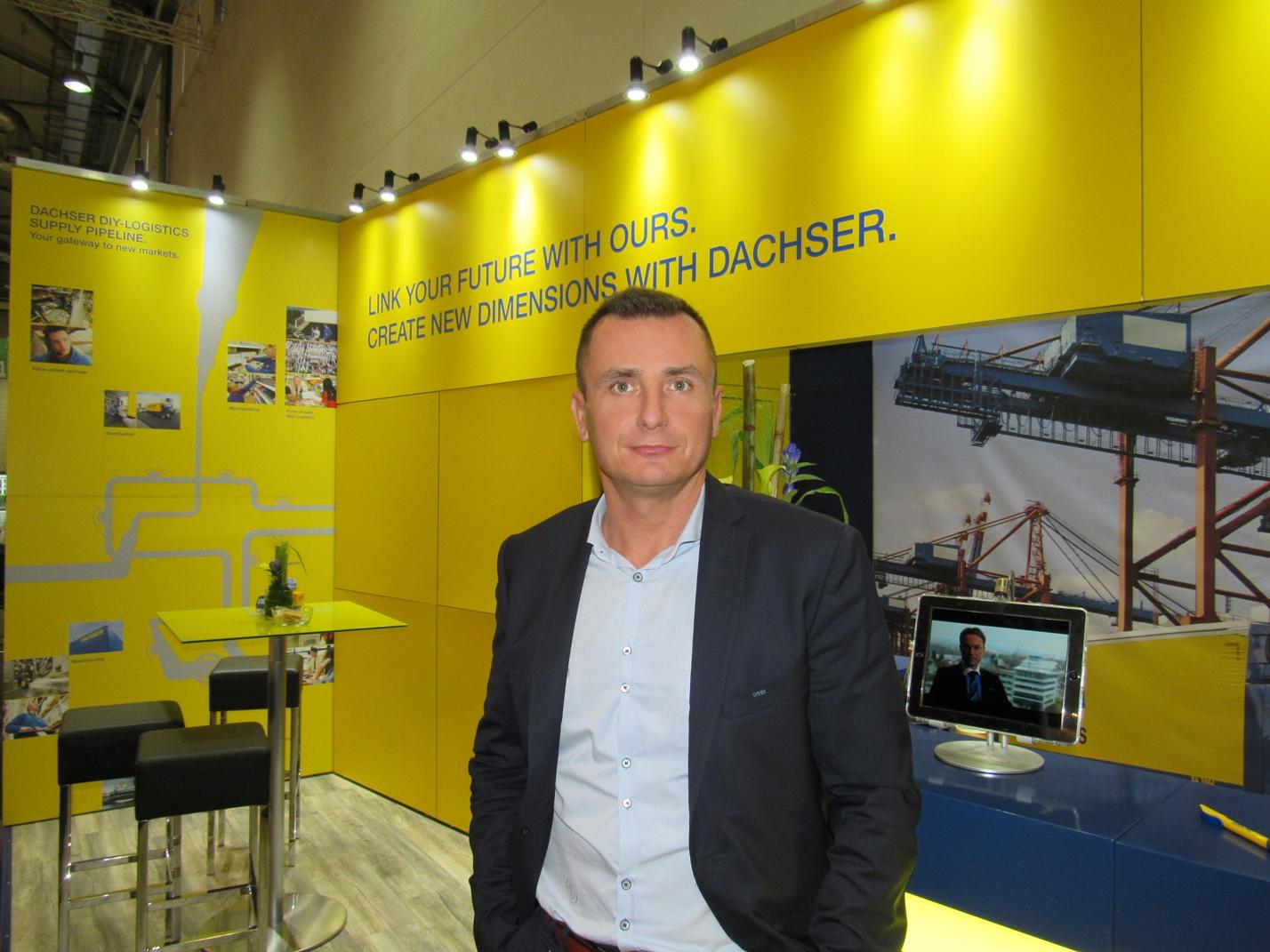 Juliusz Pakuński, kierownik Dachser DIY-Logistics w Polsce
