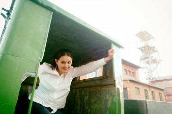 Karolina Baca- Pogorzelska, dziennikarka, inżynier górnictwa trzeciego stopnia, autorka bloga Górnictwo 2_0