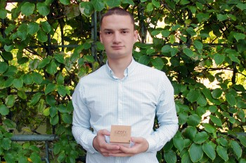 """Wacław Mostowski prowadzący w AIP Kraków firmę """"Czysty Stolik"""""""