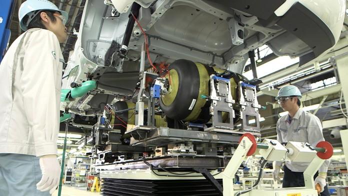Toyota Motor Corporation, Toyota Turbine and Systems Inc., Toshiba Corporation oraz Iwatani Corporation