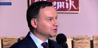"""Wizyta Prezydenta RP w Domu Pomocy Społecznej """"Chemik"""""""