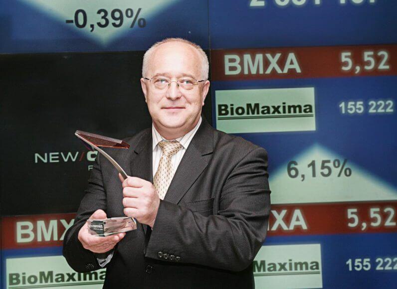 Henryk Lewczuk, Prezes Zarządu Spółki BioMaxima S.A.