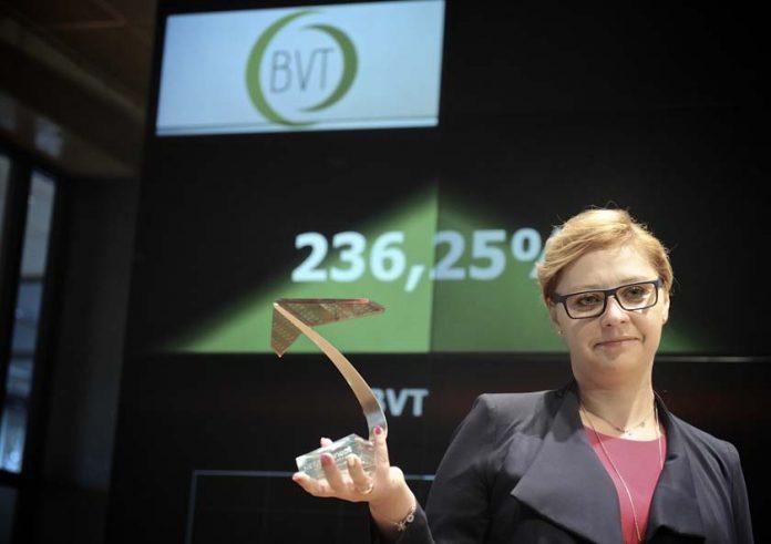 Katarzyna Szuba Prezes Zarządu Spółki BVT S.A.