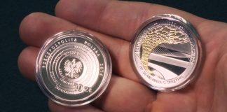 Symboliczna moneta na otwarcie multimedialnego Centrum Pieniądza NBP