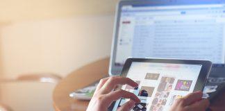 iPad strona internetowa marketing