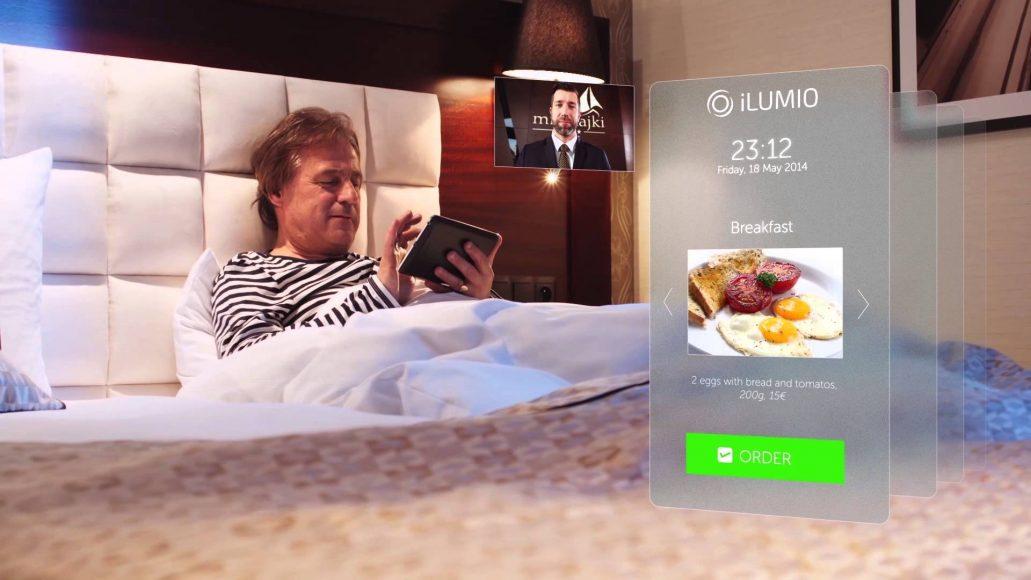 iLumio – system interaktywnej obsługi gości hotelowych