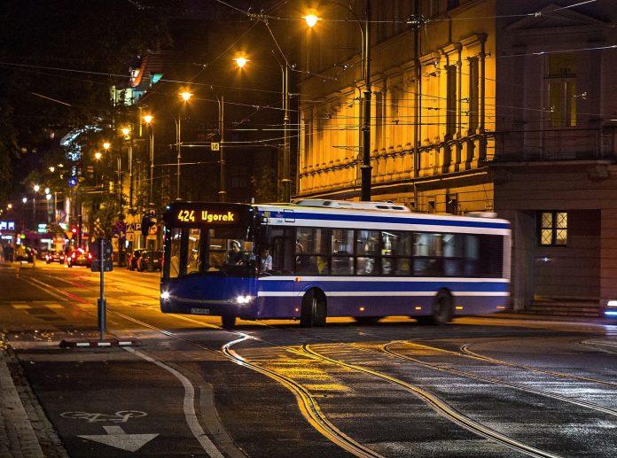 komunikacja miejska autobus Kraków