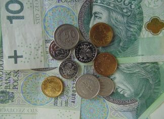 pieniądze złotówki
