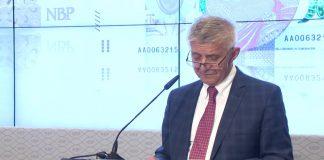 Prezes NBP prezentuje nowy banknot 500 zł