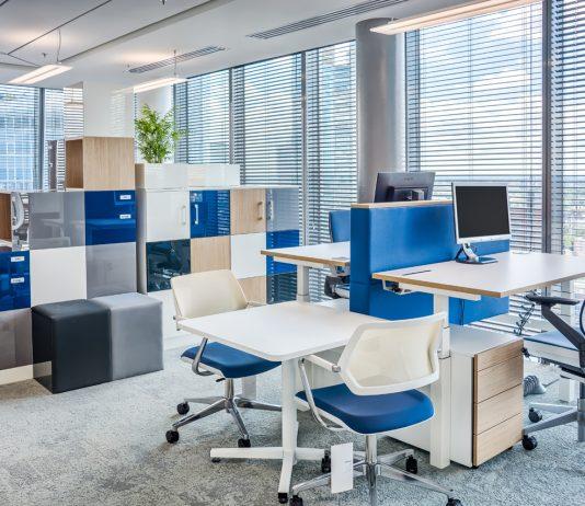 Biuro Deloitte w budynku Q22