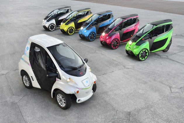 Elektryczne mikrosamochody Toyoty – COMS oraz i-ROAD (12)