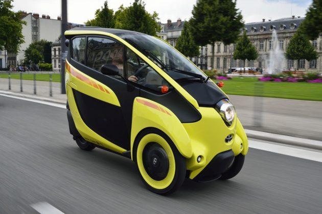 Elektryczne mikrosamochody Toyoty – COMS oraz i-ROAD (3)
