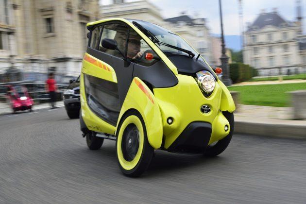Elektryczne mikrosamochody Toyoty – COMS oraz i-ROAD (4)