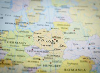 Europa Polska mapa