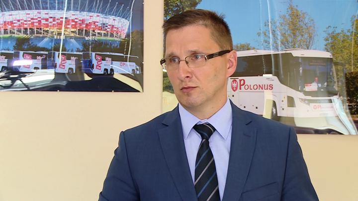 Andrzej Padziński, dyrektor ds. sprzedaży i rozwoju w PKS Polonus