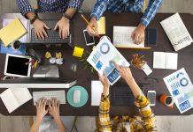 biznes startup team